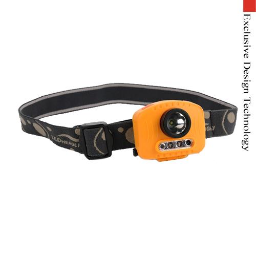 headlamp flashlight cree led IR Sensor