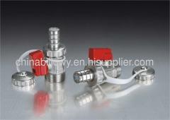Brass mini ball valve