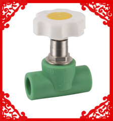 hot sale PPR Heavy Stop Valve 20-32mm from China
