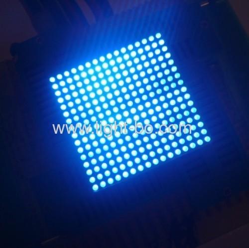 Ultra blanco brillante 1,8 mm 16 x 16 pantalla LED de matriz de puntos para el tablero de mensajes, 40 x 40 x 3,5 mm
