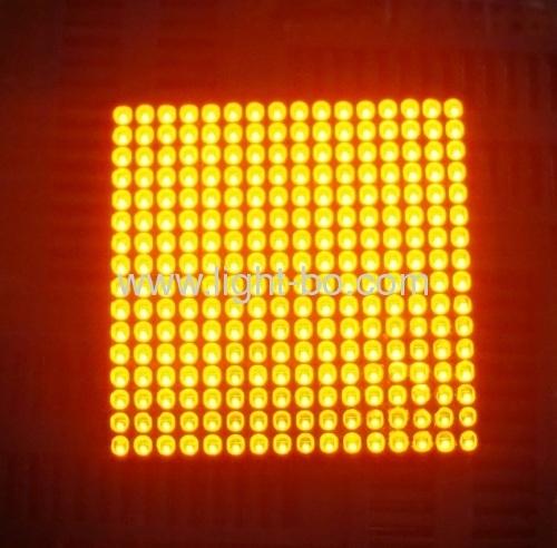 1,5 pulgadas de 1.8 mm 16 x 16 led de la pantalla de matriz de puntos para el tablero de mensajes en movimiento signo/ascensor piso indicador de número de