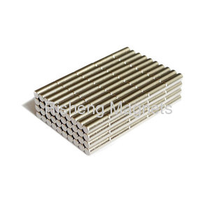 18 x 3 x 4mm China Sintered N48H Grade Neodymium Block Magnets Supplier