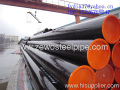 SCH40 HOT ROLLED SEAMLESS STEEL PIPE