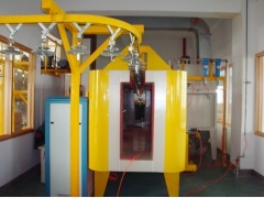 powder coating line for cabinet