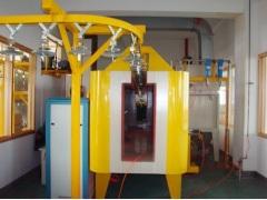 powder coating line for cabinet