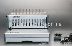 electric comb binding equipment
