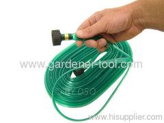 15M Lawn Sprinkler Bewässerungsschlauch W / Stecker