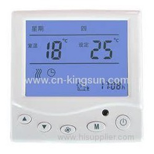 2013 hot sales-programmable room thermostat of WSK-9E