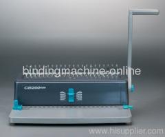 A4 paper size comb binding machine