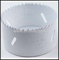 White Bi-metal hole saws