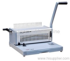 A4 letter size comb binding machine