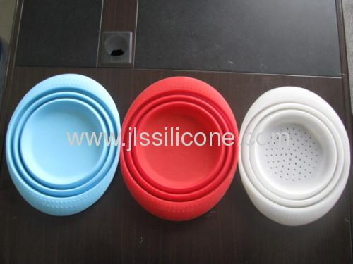 Fashion silicone folding baskets