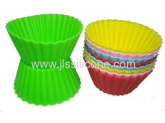 Silicone cake pan and jelly muffin sweet candy mold