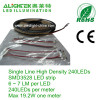Highest density 240LED/m SMD 3528 LED strip with 10mm PCB