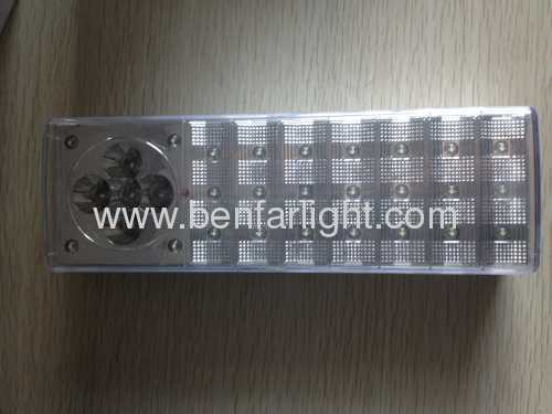 25+5 LEDS rechargeable emergency light