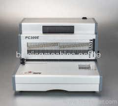 A4 spiral coil binding machine