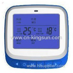 LCD Intelligent FCU thermostat of WSK-9K