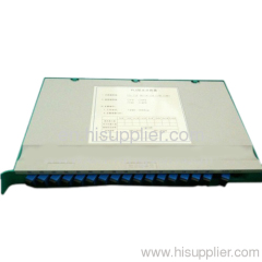 16 core fiber patch panel(tray type)