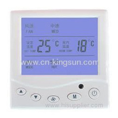 central air conditioner thermostat of WSK-9A withlarge LCD
