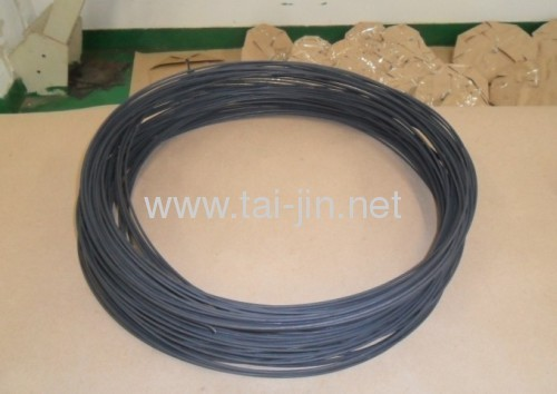 Titanium mixed metal oxide coated wire anode for water tanks cathodic protection