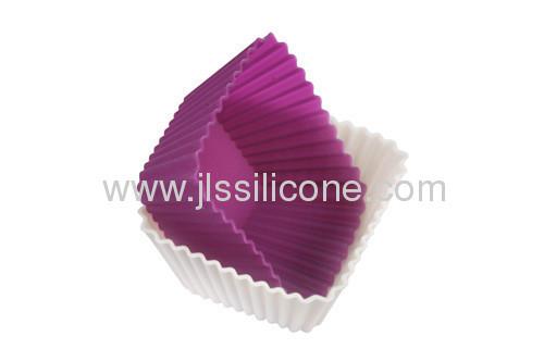 Mini square silicone cake pan for cake/muffin/jelly