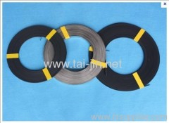 Manufacture of Ir-Ta Oxide Coated Ribbon Anodes and Conductor Bar