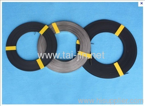 Manufacture of MMO Ribbon Anodes