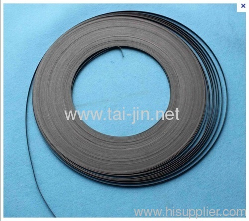 MMO mesh ribbon anode uesed in sands with various levels of moisture
