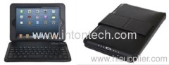 Bluetooth keyboard with leather case for IPAD Mini