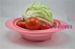 OEM Foldable Silicone pot