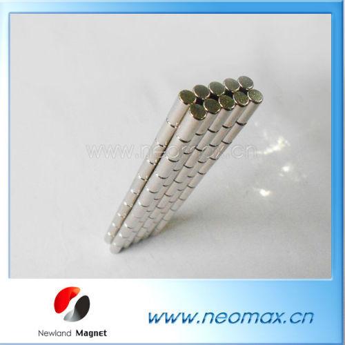 "1/2""x1/x2"" Ni Coated NdFeM Magnet Cylinder"