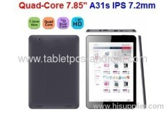 Quad-Core 7.85'' A31s IPS 7.2mm