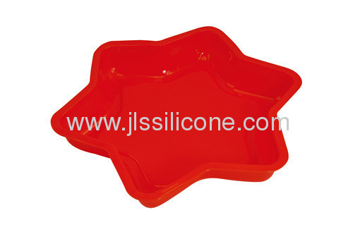 Silicone bakery bakeware muffin and jelly cake mold