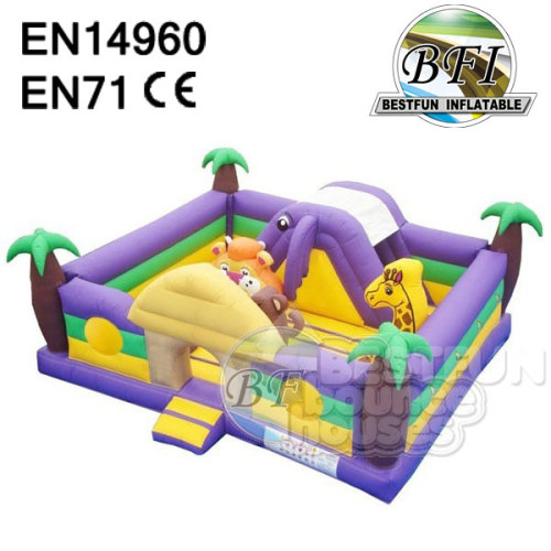Inflatable Outdoor / Indoor Jungle Bouncer