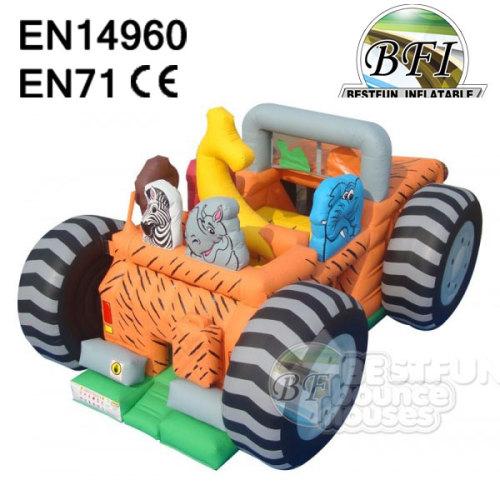 Inflatable Safari Jeep Playground Bouncer