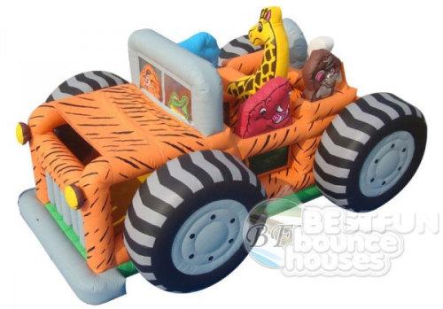 Safari Jeep Playground Bouncer Park