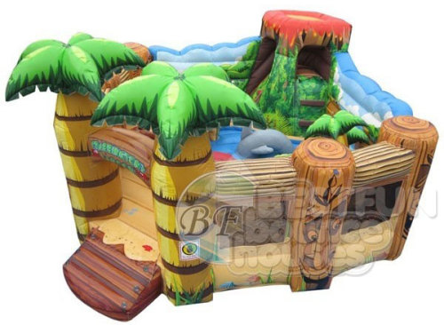 Large Funny Inflatable Playground Park