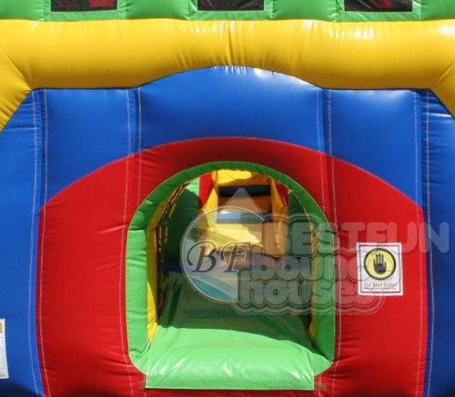 Inflatable Adrenaline Obstacle Course