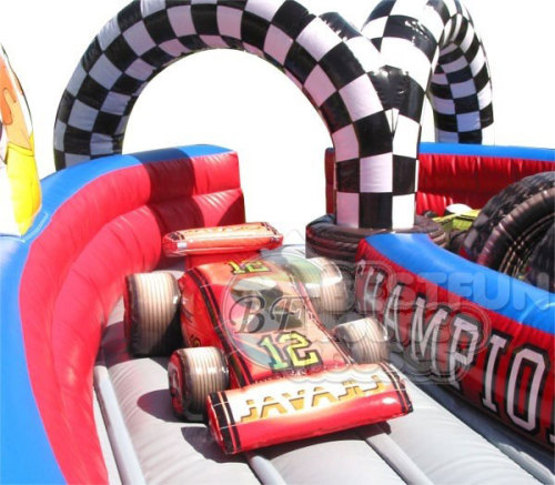 Inflatable Race Kids Playground