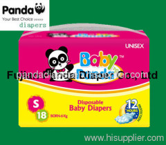 factory price hot sales baby nappies