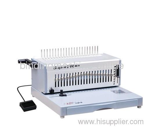 alloy electric comb binding equipment