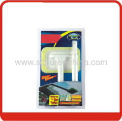 Car Duster Brush with Microfiber in blister box + paper card
