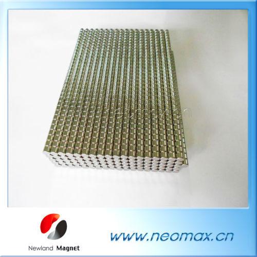 Sintered cylinder Neodymium Magnet
