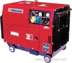 silent type diesel generator