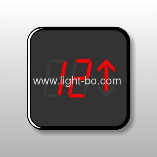 0.8common cathode 3 digit arrow led displays for elevator floor indicators