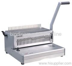 heavy duty plastic ring binding machine