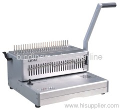Alloy Manual Plastic Ring Binding Machine