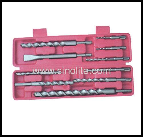 10pcs/set SDS plus Shank Hammer Drill Bits