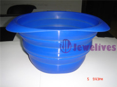 Eco-friendly Foldable silicone strainer