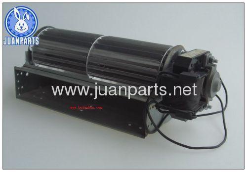 Cross flow fan motor